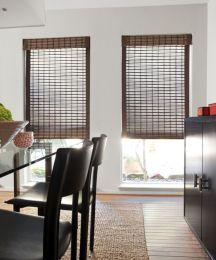 Natural woven flat fold shades bamboo blinds bamboo for Natural woven flat fold shades