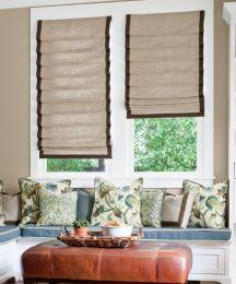 soft roman fabric shades custom roman window shades smith noble. Black Bedroom Furniture Sets. Home Design Ideas