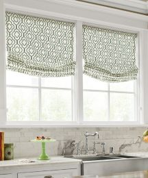 Relaxed Roman Fabric Shades Window Shades Custom Roman