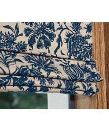 Reverse Classic Roman Fabric Shades Custom Roman Window