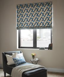 flat roman fabric shades custom roman window shades. Black Bedroom Furniture Sets. Home Design Ideas
