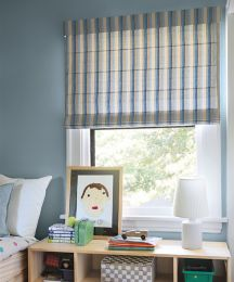 Classic Roman Fabric Shades Custom Roman Window Shades