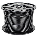 "Cable 300FT Reel, 1/4"" Diameter with Black Nylon Coating"