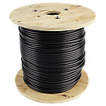"Cable 500FT Reel, 1/4"" Diameter with Black Nylon Coating"