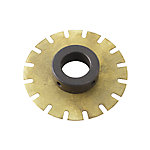 Chopper Wheel Disc Hub Assembly, LifeRower, LifeFitness