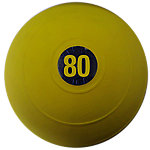"D-Ball, 80lb, Yellow, No Bounce, 12"" Diameter"