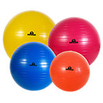 Stability Ball Set, Anti-Burst, One Each Of 45, 55, 65 and 75cm Sizes