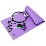 Pilates Kit with Xertube, Pilates Ring, Mat and Carry Strap