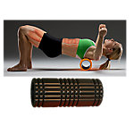 "The Grid Foam Roller, 5"" x 13"", Black"