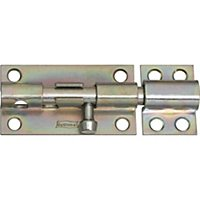 Pad-Lockable Barrel Bolts