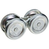 Box Rail Hangers W/Steel Roller Bearings