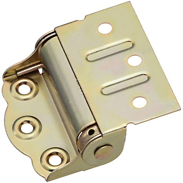 brass finishes half surface screen door spring hinge s388200