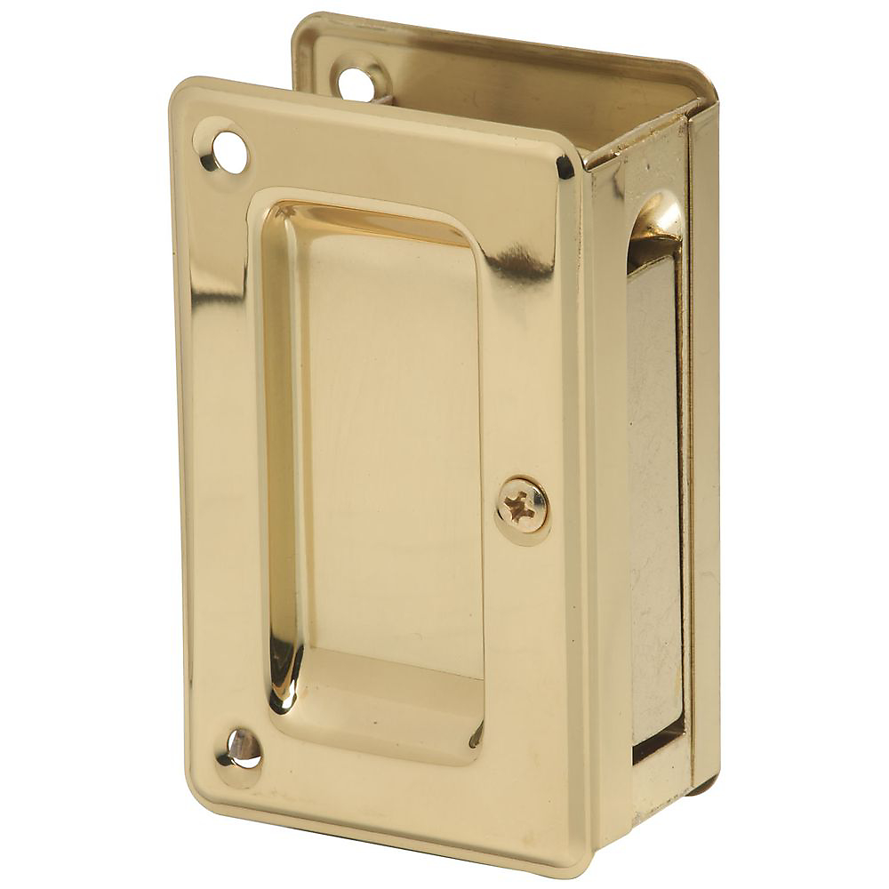 Brass Finishes PD250 61 Deluxe Pocket Door Pull   S404 030