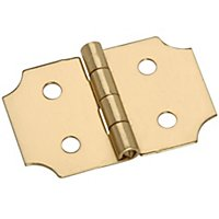 Solid Brass Ornamental Hinges