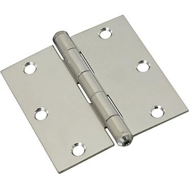 Stainless Steel 514 Door Hinges - Stainless Steel - N830-277