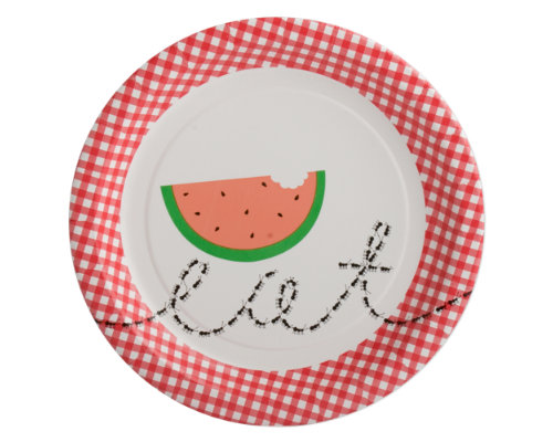 picnic ants paper luncheon plate set of 8