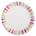 Easter Paper Party Dinner Plate Set of 8