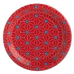 starburst paper plate set of 8
