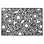 Flowers Rubber Door Mat