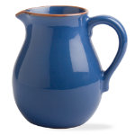 Jardin cornflower small terracotta pitcher