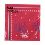 firecrackers paper luncheon napkin set of 20