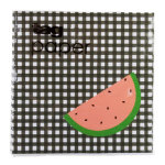 picnic plaid paper cocktail napkin set of 20