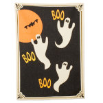 Halloween ghost dishtowel