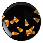 Halloween candy corn appetizer plate