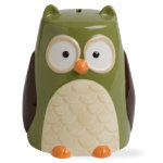 Autumn owl piggy bank