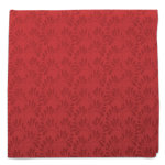 Christmas Cranberries Red Napkin
