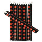Halloween spooky mini taper candle set of 12