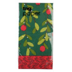 Christmas Cranberries Paper Buffet Napkin Set of 20