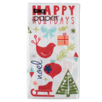 Happy Holidays Paper Buffet Napkin Set of 20