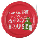Happy Holidays Paper Luncheon Plate Set of 8