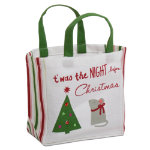 Twas the Night Small Gift Bag with Handles