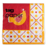 kitchen paper cocktail napkin set of 20
