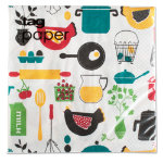 kitchen paper luncheon napkin set of 20