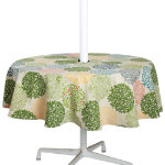 tree tops umbrella tablecloth