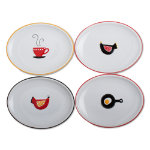 kitchen appetizer plate set of 4