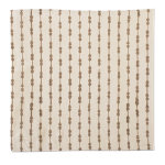 natural home dotted stripe napkin