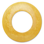 hoops yellow napkin ring