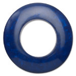 hoops indigo napkin ring