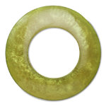 hoops green napkin ring