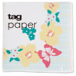 spring awakening paper cocktail napkin set of 20