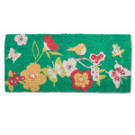 spring awakening estate coir mat