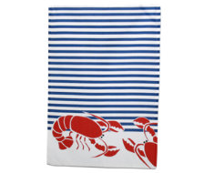 lobster dishtowel