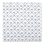 indigo diamond napkin