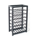 Trio Short Wine Rack Black