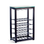 Trio Narrow Wine Table Black