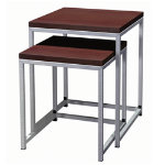 Ogden End Table 16x16 Stainless